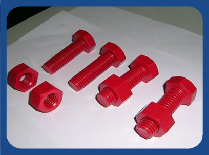 Nut and Bolts Fasteners Coatings, PTFE Coating, XYLAN